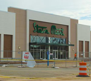 Stein Mart Construction Continues