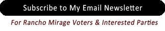 Subscribe to my Voters Newsletter